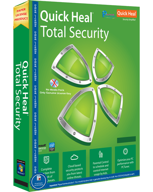 Quick Heal Total Security - 5 User / 1 Year